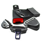 Safety belt components